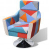 Fauteuil Relax HAPPY-FEET VINTAGE + repose-pieds - Tissu  - 5