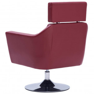 Fauteuil Relax HAPPY-FEET + repose-pieds - Similicuir  - 19