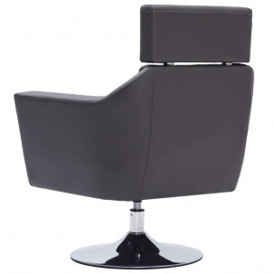 Fauteuil Relax HAPPY-FEET + repose-pieds - Similicuir  - 26