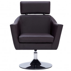 Fauteuil Relax HAPPY-FEET + repose-pieds - Similicuir  - 32