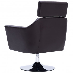 Fauteuil Relax HAPPY-FEET + repose-pieds - Similicuir  - 33